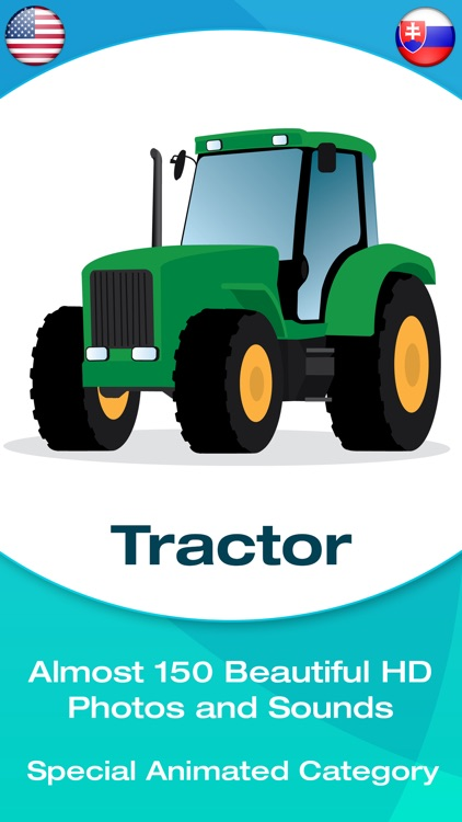 Vehicle Flashcards for Kids, Babies or Toddlers screenshot-0