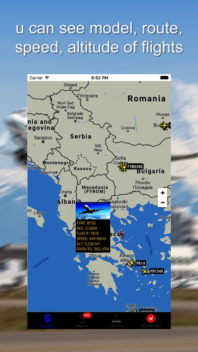 Tracker For Korean Air Pro screenshot two