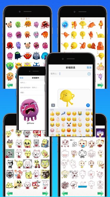 Gif Stickers for WhatsApp & Social Messenger screenshot-4
