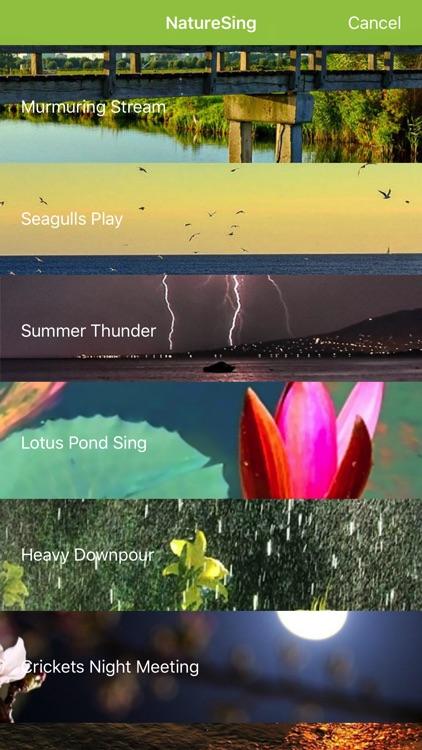 NatureSing--Best nature sounds