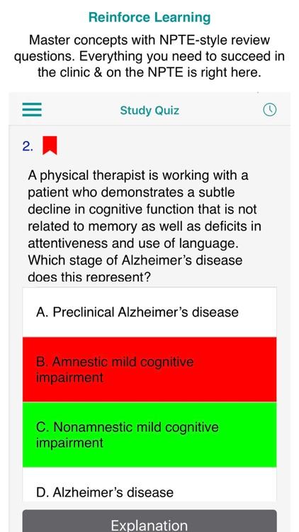 Neuro Rehab PT Case Files, 1e screenshot-3