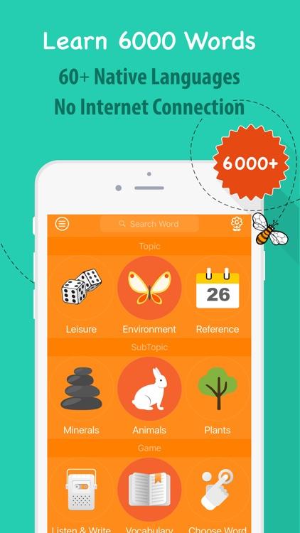 6000 Words - Learn Swedish Language & Vocabulary screenshot-0