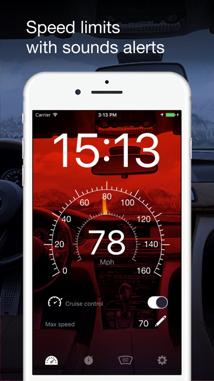 Speedometer GPS: HUD, Car Speed Tracker, Mph Meter screenshot-3