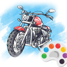 Activities of Motorcycle Racing Coloring Book For Kids