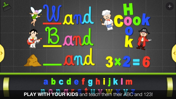 ABC - Magnetic Alphabet for Kids