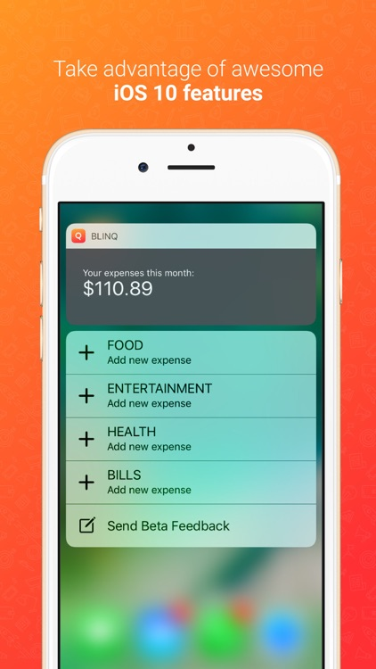 Blinq: Simple Expense Tracker Spendings Analytics screenshot-4