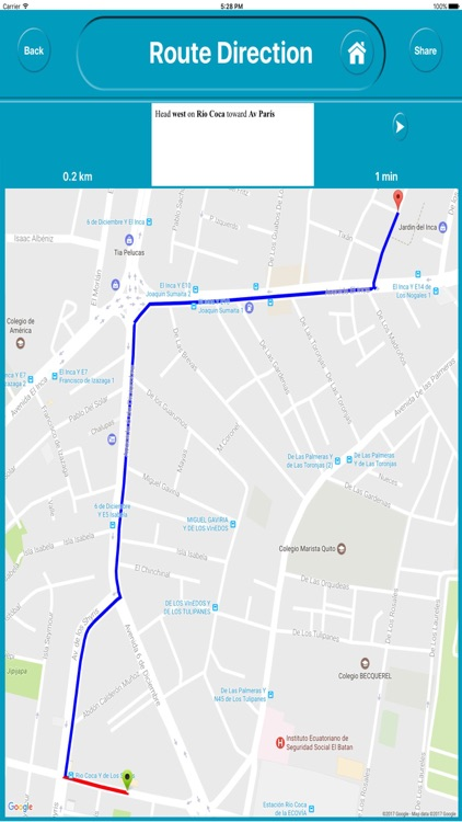 Quito Eucador Offline City Maps with Navigation screenshot-4