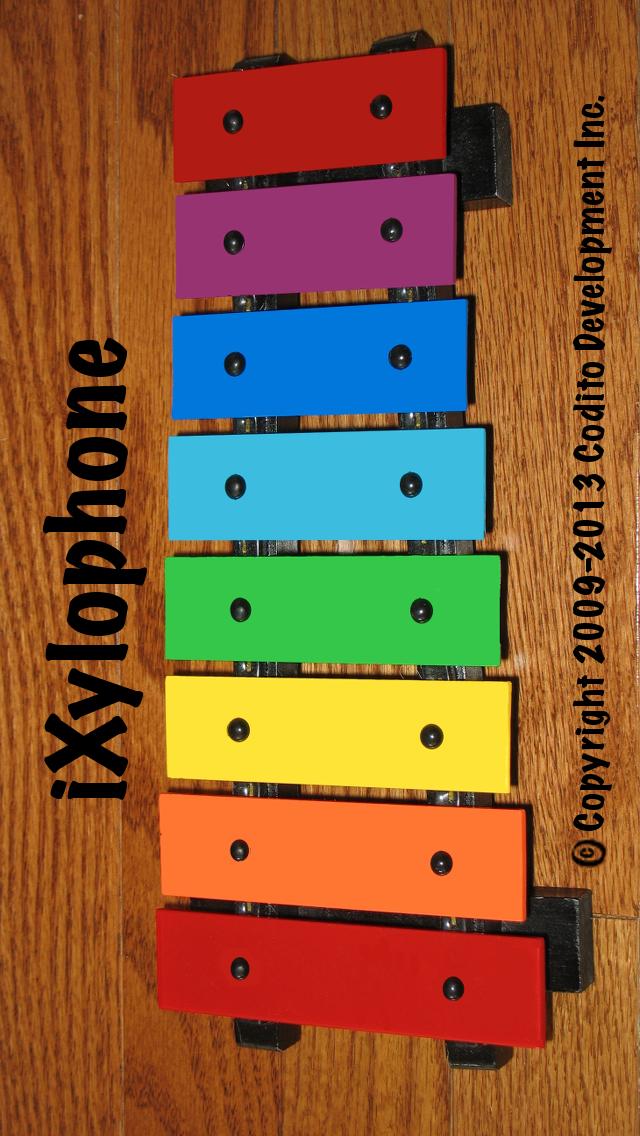 iXylophone Lite - 年齢に関係なく子供達のために木琴を奏でましょう。のおすすめ画像1