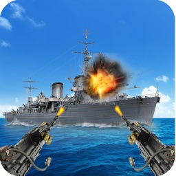 Navy Gunner Shoot War