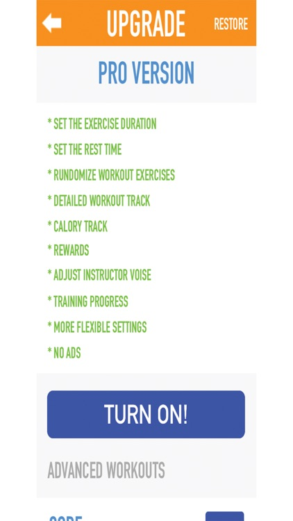 7 Minutes workout - get in shape in 10 moves