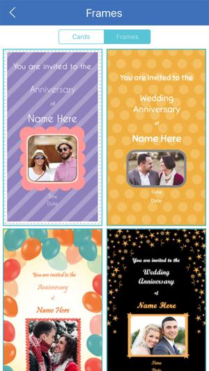 Anniversary invitation card maker on the app store stopboris Gallery
