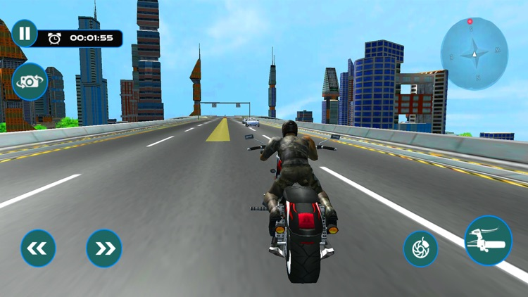 Furious City Moto Bike Rider – Race Simulator Game screenshot-4