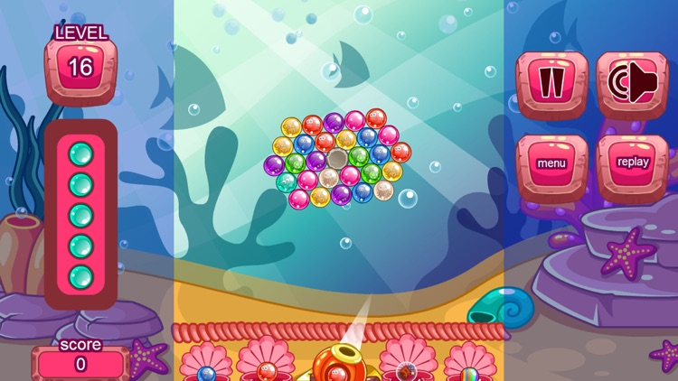 Fish Bubble Shooter Games - A Match 3 Puzzle Game