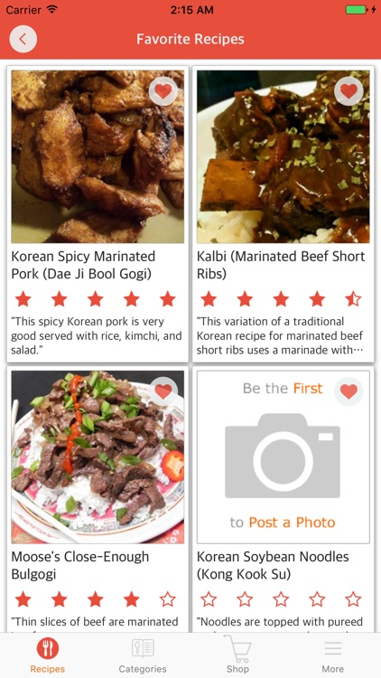 Korean Cuisine: Easy and Delicious Korean Food screenshot-3