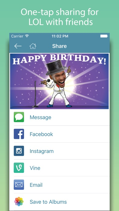 Birthday Cards - Happy Birthday Greetings & Frames screenshot four