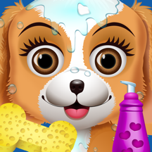 Puppy Spa - Kids Animal Makeover Games