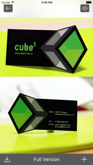 Business card design ideas visiting cards designs on the app store reheart Images