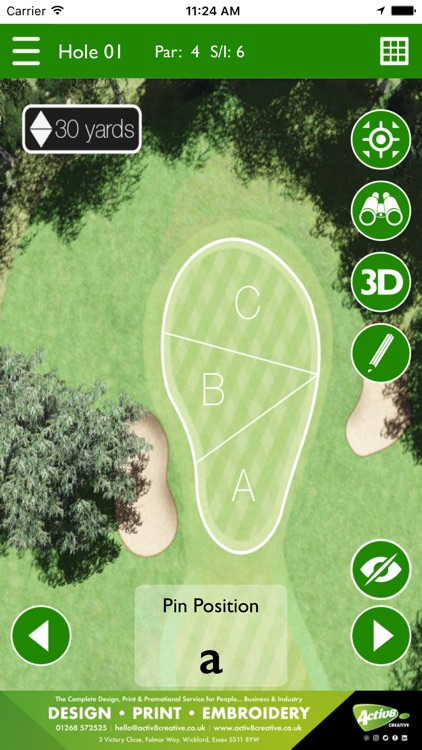 Abridge Golf Course & Country Club screenshot-3