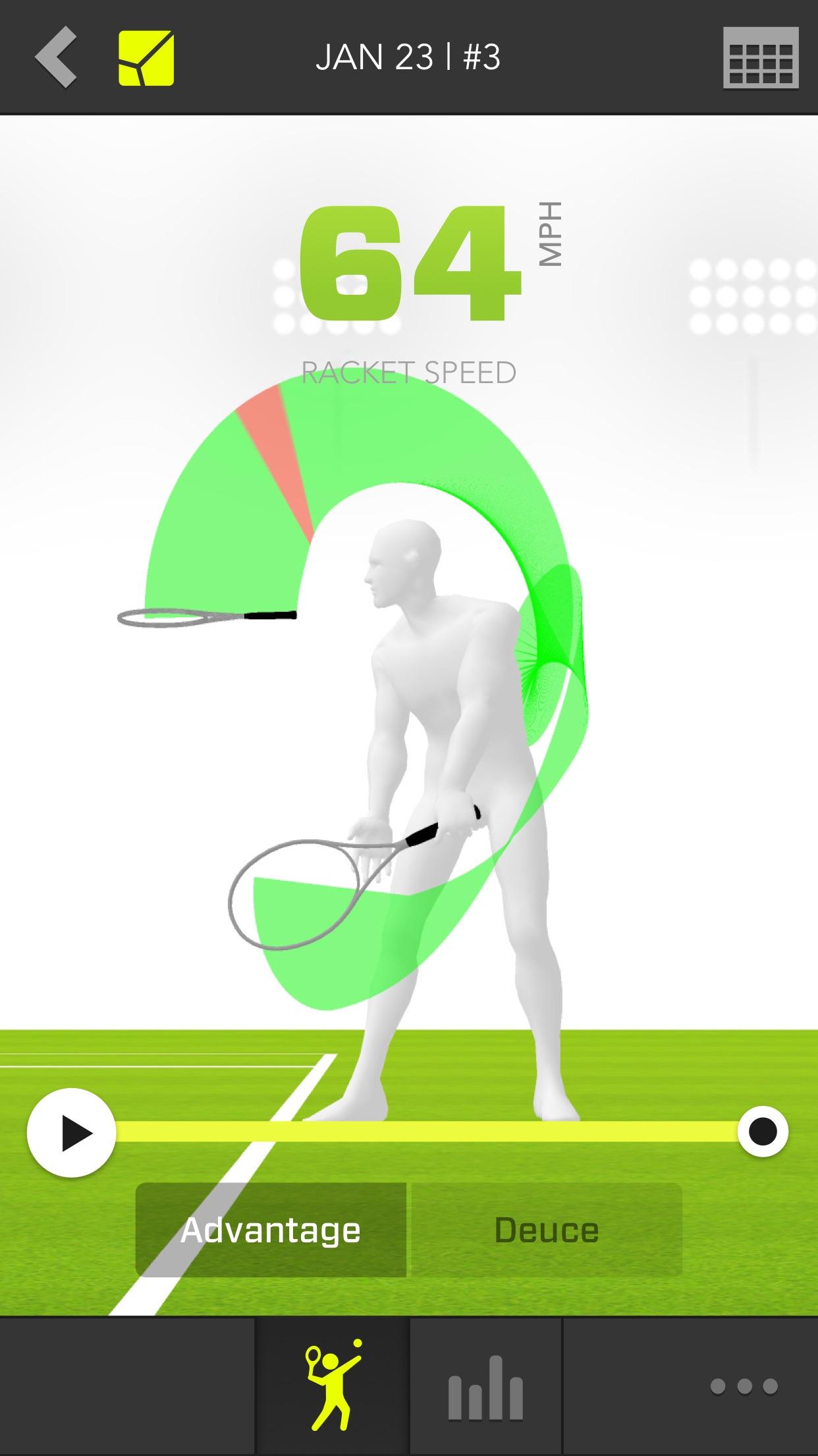 Zepp Tennis Classic Screenshot
