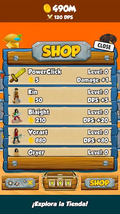 Epic ClickersCaptura de pantalla de3