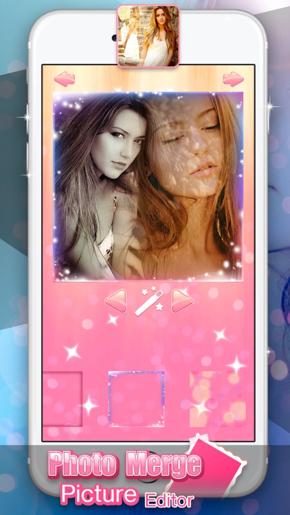 Photo Merge Picture Editor: Create Blended Photos