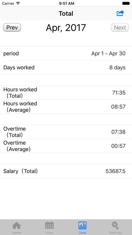 TimeSheet - IS - screenshot-4