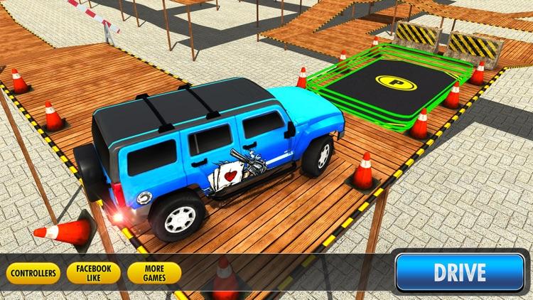 City Climb Prado Car Stunt Parking Simulator 3D