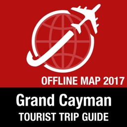 Grand Cayman Tourist Guide + Offline Map