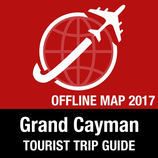 Grand Cayman Tourist Guide + Offline Map