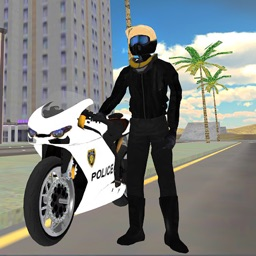 Police Motor-Bike City Simulator 2