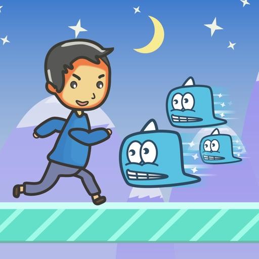 Super Hank Run:Ice Runner