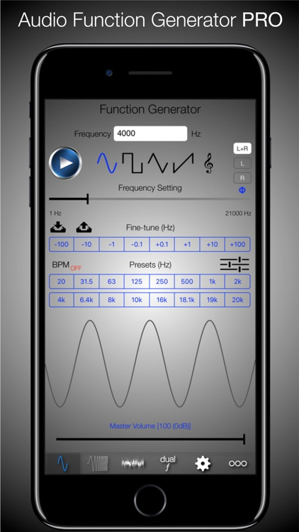Audio Signal Generator PRO - incl. Sweeps & Noise