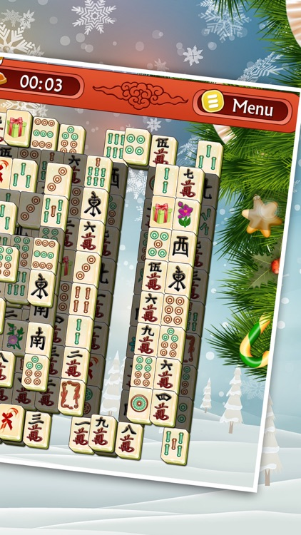 Christmas Mahjong.Christmas Mahjong 3d Classic Winter Puzzle Game By 12