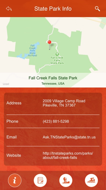 Tennessee State Parks & Trails screenshot-3