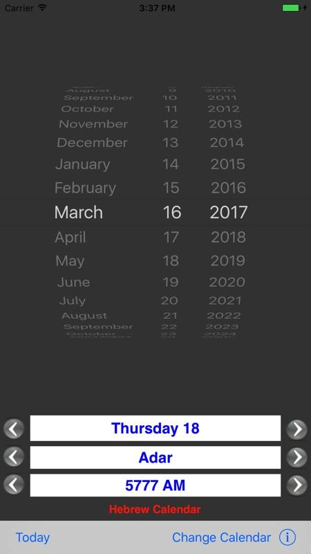 Date Converter Instant Calendars