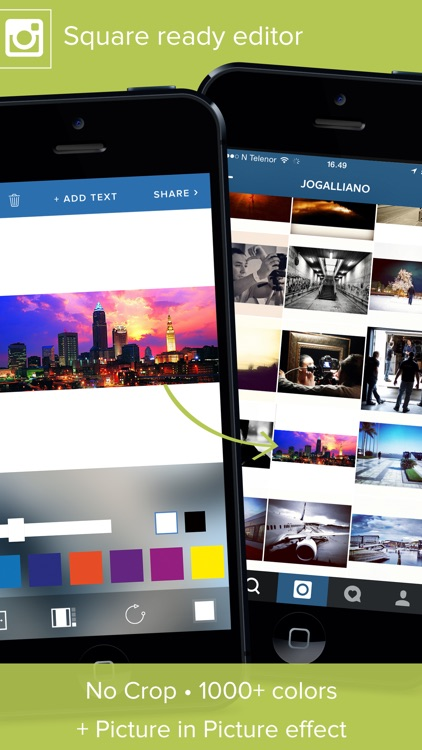 Giant Square PRO for Instagram screenshot-4