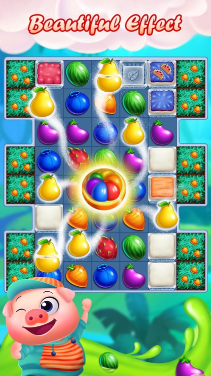 Monster Fruit Pop Jam: match 3 games matching free screenshot-0