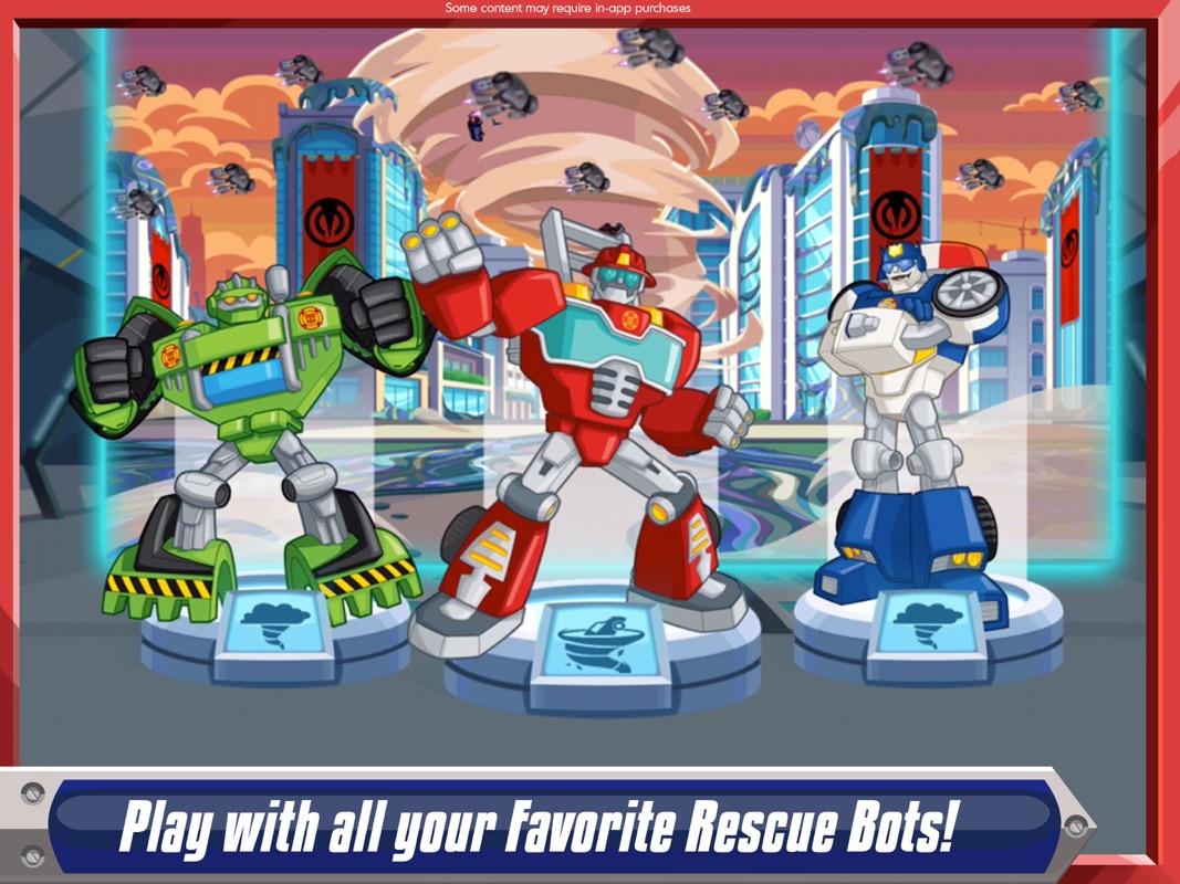 Transformers Rescue Bots: Disaster Dash - Hero Run Online Hack Tool