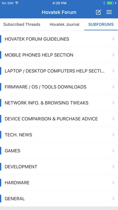 Hovatek Forum screenshot 1