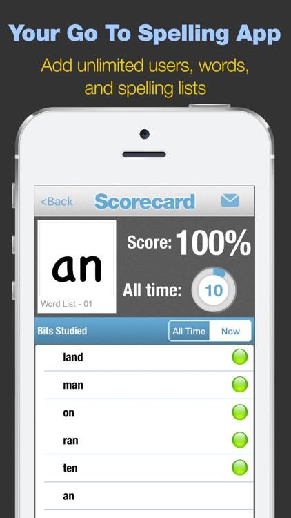First Grade Spelling Words screenshot-3