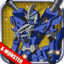 Slash Lion: Robot Monster Building and Fighting