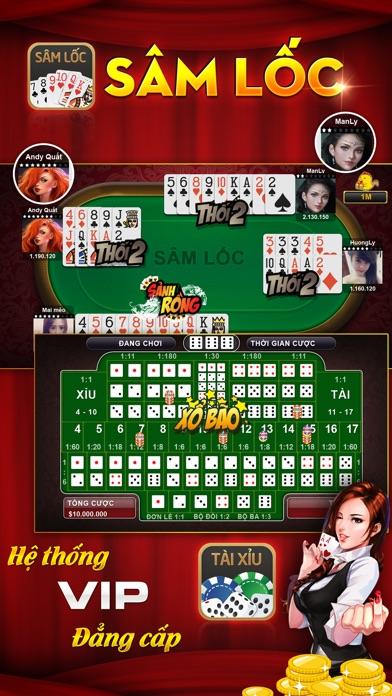 Screenshot for Sanh Rong - Game danh bai in Viet Nam App Store