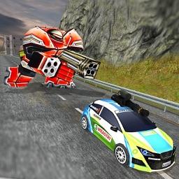 Motor Robot Race – Steel Armor Robot Game
