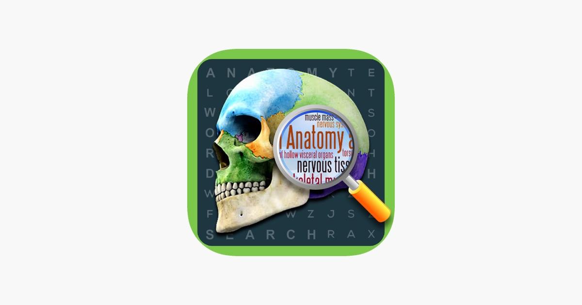 Anatomie-Wort-Suche: Medizinische Terminologie im App Store