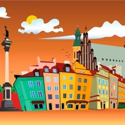 Warsaw 2017 — offline map and navigation!