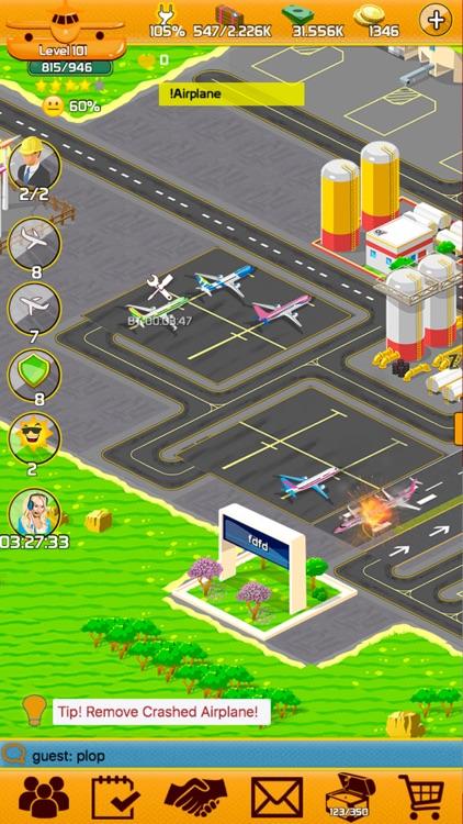 Aircraft Oops - Build Airport screenshot-4