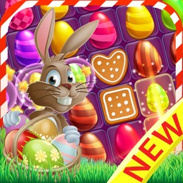 Easter Egg cookie - Bunny hunt candy game for kids