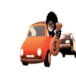 لعبة باك مان والشرطة - العاب سيارات مجانية