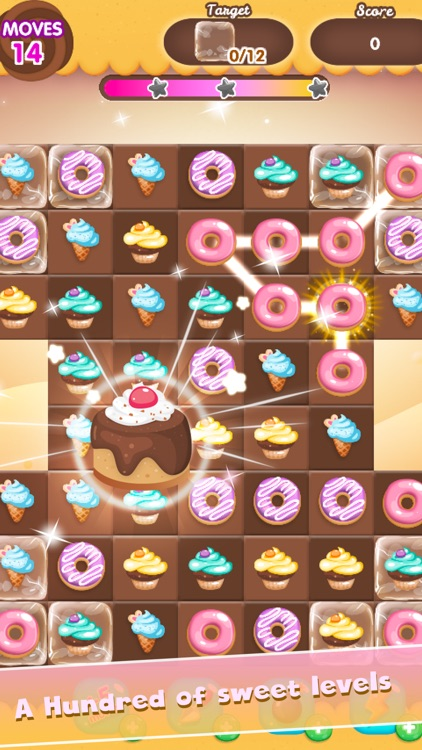 Candy Sweet POP Magic - Free Puzzle Game