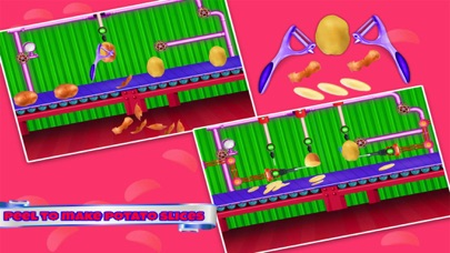 Chips Factory Cooking Games screenshot two